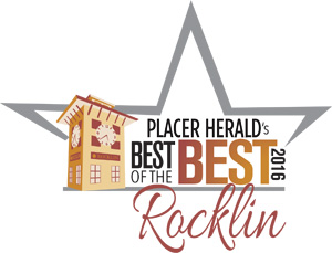 Voted Best Rocklin Dentist 2016, 2015, 2014, 2013, 2012, 2011, and 2010