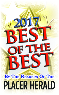 Voted Best Rocklin Dentist 2017, 2016, 2015, 2014, 2013, 2012, 2011, and 2010